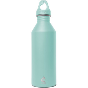 MIZU M8 Bottle with Spearmint Loop Cap 800ml turquoise